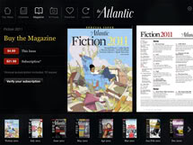 The Atlantic Digital Edition, The Atlantic Magazine, a native app developed by RareWire
