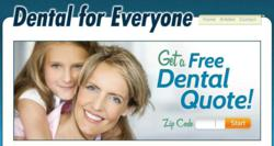 Dental Insurance, Individual Low Cost Full Coverage Affordable Plan