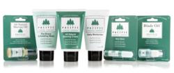 Pacific Shaving Company's line of natural, safe and eco-friendly shaving essentials.