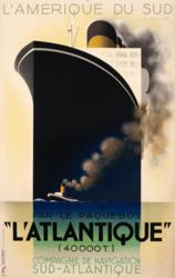 A.M. Cassandre, l'Atlantique, 1931.
