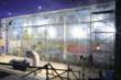 Yeosu acrylic panel being polished