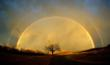 The Joyful Redemption—this rainbow appeared the last time I visited Bruce in prison