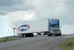 Photo FW Trucking on the road