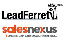 LeadFerret B2B Contacts and SalesNexus CRM Software and Email Marketing