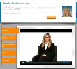 interactive portfolio launches free video resume website intportfoliocom