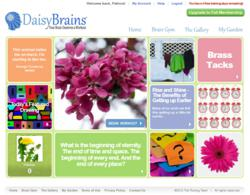 Daisy Brains focuses on brain training, brain fitness, brain games, and creativity challenges.