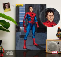 Personalized Marvel® Superhero Portraits