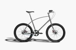 Budnitz Bicycles Model No.4 in Stainless Steel