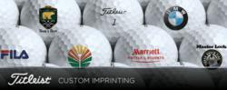 Titleist Logo Golf balls