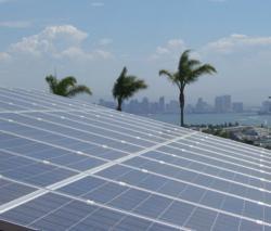 Residential solar power system in San Diego, CA