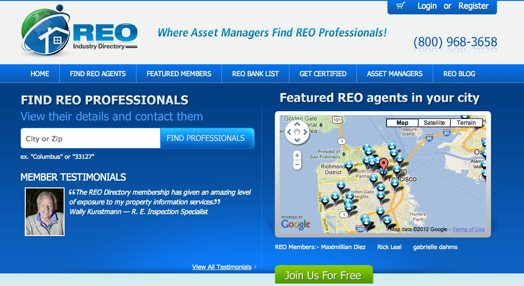 how to become an reo agent