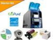 The Eco-Friendly Datacard SD260 & SD360 card printers are available with optional starter kits