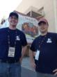 Pork Barrel BBQ pitmasters Heath Hall and Brett Thompson at ACM's BBQ Throwdown in Las Vegas - www.porkbarrelbbq.com