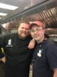 "Zac Brown Band's Chef Rusty Hamlin with Pork Barrel BBQ's Heath Hall in ""Cookie"""