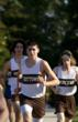 Nathaniel Asselin running cross-country as a student at Westtown