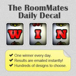 RoomMates Daily Wall Decal Giveaway