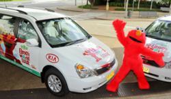 KIA Grand Carnival and Elmo World Tour