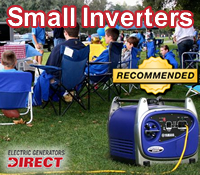 top smal inverter generator, best small recreational generators, top small camping generator, best small inverter generators