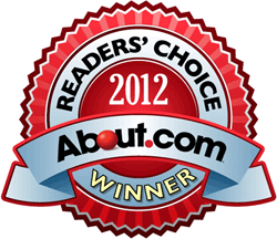 About.com Readers' Choice Award