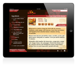The Recipe Box v2.1 for iPad by Corpus Collusion