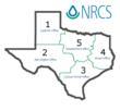 NRCS Texas Zones