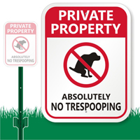 Check out a Funny Dog Sign