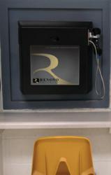 An on-premise video visitation station that utilizes Renovo Software's visitation management platform.