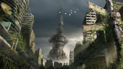 Environmental Art for the MIniature Wargame Dark Potential