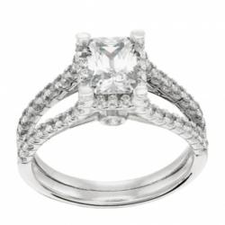 man made diamond, affordble engagement ring