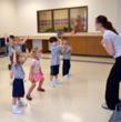 Everest Academy preschool dance class