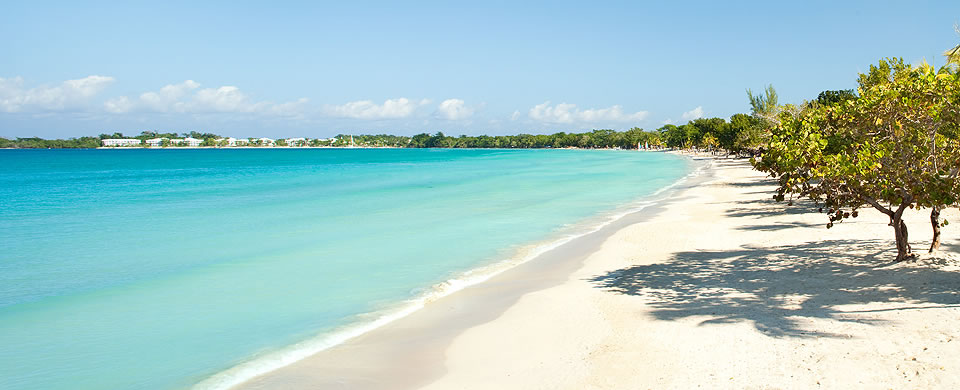 Negril BeachWalk With Your Sweetheart On Negrils Beautiful White Sand Beach