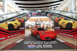 things to do in las vegas, las vegas strip, las vegas attraction, racetrack las vegas, ferrari f430