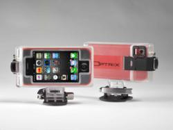 Optrix Rugged Action Camera Mount for iPhone 4/4S and iPod Touch 4G