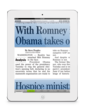 Newspaper articles in replica view are rendered with razor-sharp text.