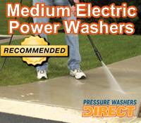medium electric pressure washer, medium electric power washer, medium electric pressure washers, medium electric power washers