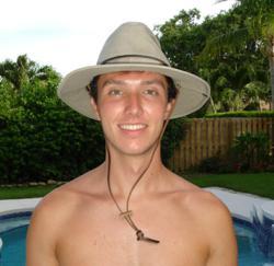 100% Cotton Safari Hat with 3 inch brim and Sun Protection