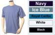 Sun Protective Pocket T-shirts 50+ UPF 100% Cotton $16.95