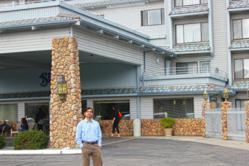 Raj Patel, owner of the Yosemite Southgate Hotel in Oakhurst