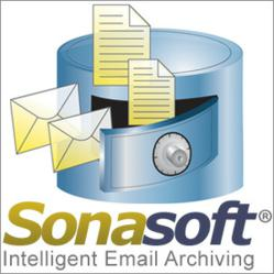 Sonasoft - Intelligent Email Archiving Solution with newly released SonaVault Email Archiving Appliance