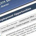Dental Website Employment Ads