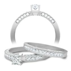 Bridal Sets on sale with matching bridal ring and wedding band