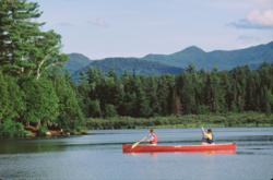 Paddling Saranac Lake Adirondacks New York