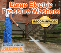 large electric pressure washer, large electric power washer, best large electric pressure washer