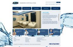 gI 77768 HomePage ScreenCapture Zurn Industries lanceert dynamische nieuwe website