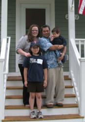 The Chavez family owns a Twin Cities Habitat in St. Francis, Minnesota