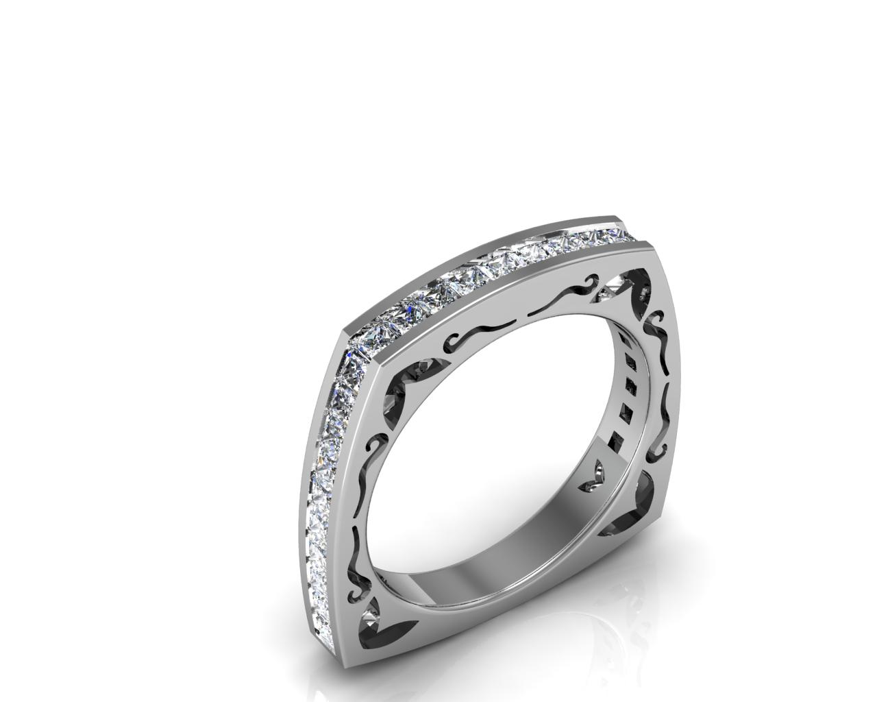 Diamond Nexus Releases Matching Wedding Bands For Michael Nashef Designer Affordable Engagement