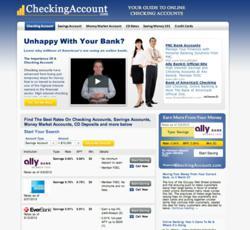Free Checking Account Comparison Site