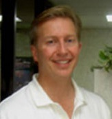 Photo of Dr. Overmeyer in his Orlando, Florida dental office.