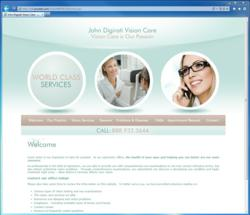 ProSites Optometry Website