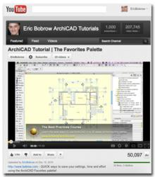 ArchiCAD Tutorials YouTube channel by Eric Bobrow achieves triple milestones